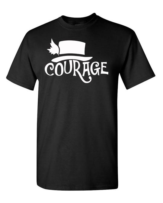 Courage-tee