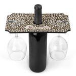 Leopard-Print-Wine-Glass-Holder